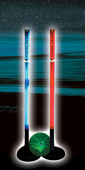 Stream Machine Lighted Poles Game
