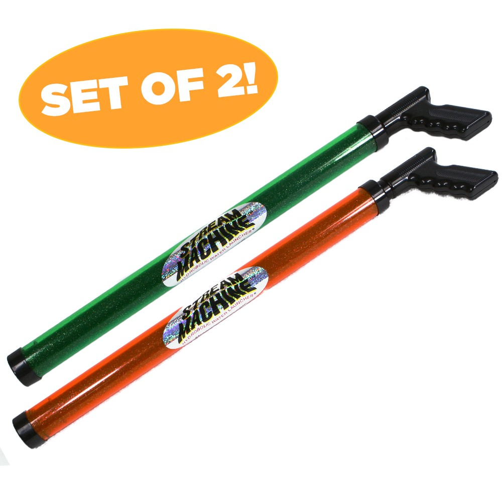 Stream Machine Over 29-Inch Long Water Gun Set of Two, Water Launchers 80013-8