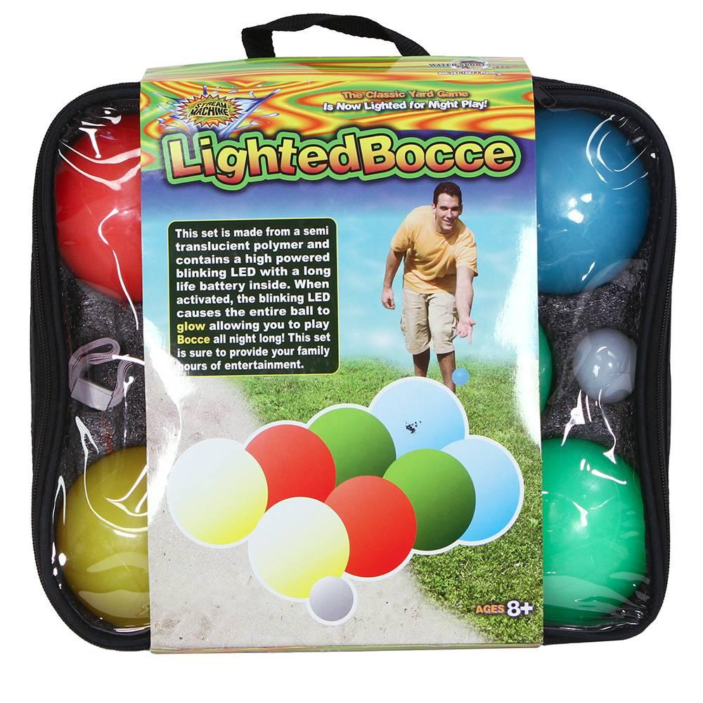 Lighted Bocce Set Bocce Ball Sets Bocce Ball Backyard