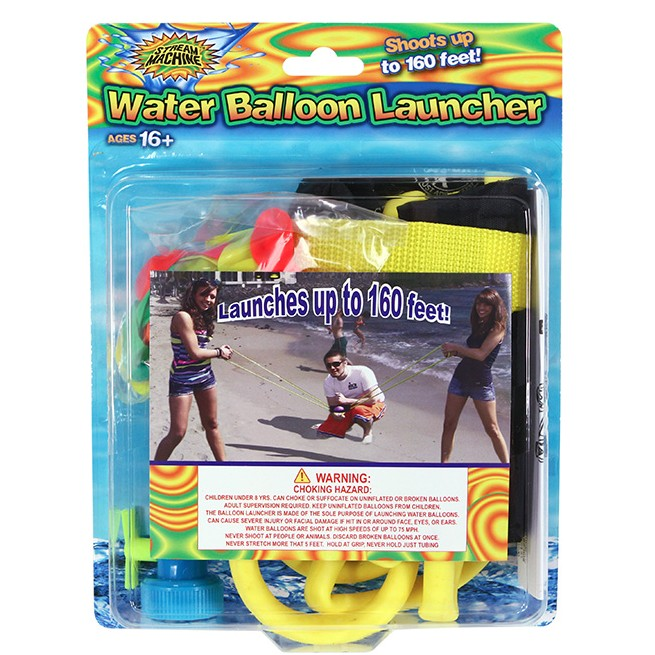 3 Person Balloon Launcher, Water Sports Water Balloon Launcher 80083-1