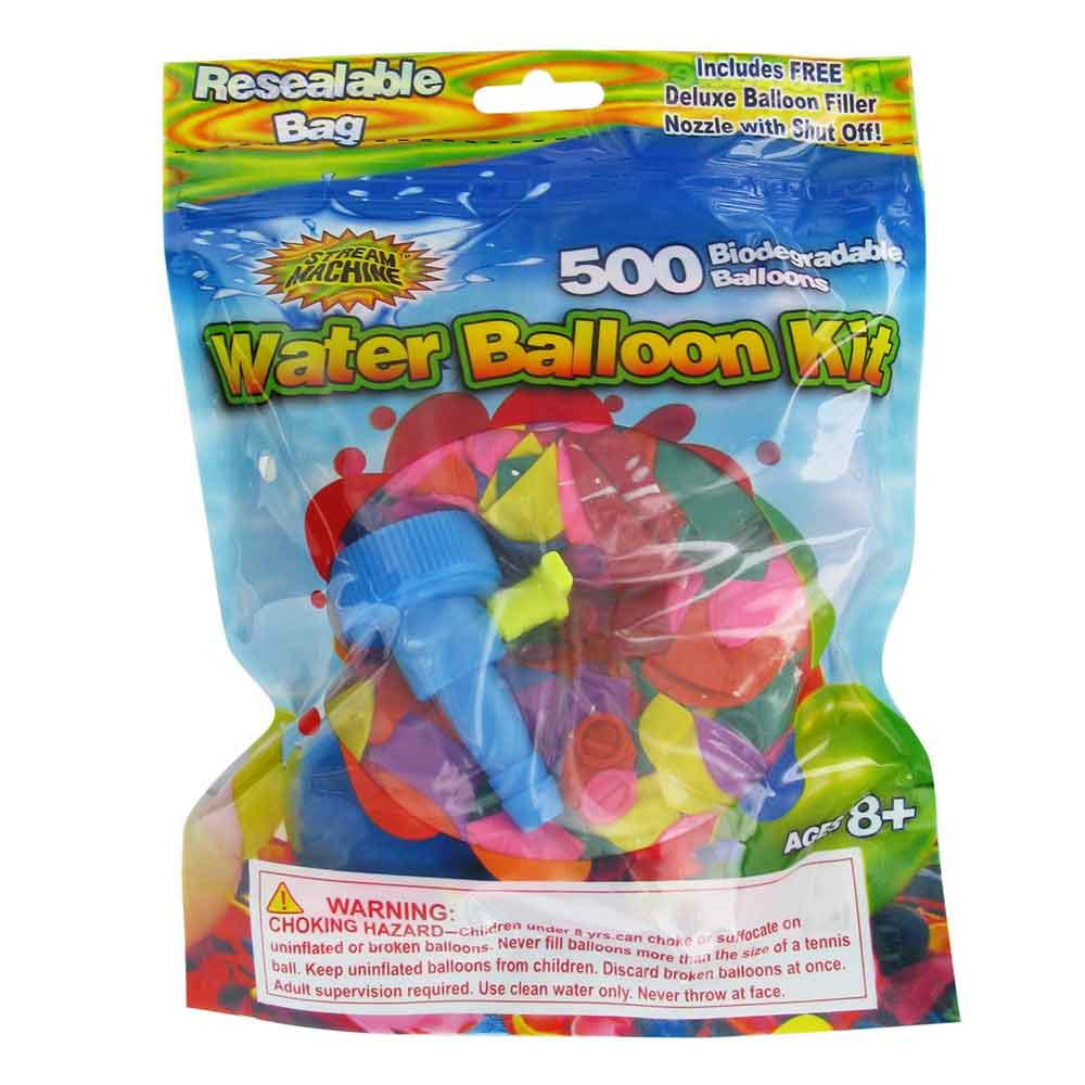 Water Balloon Refill Kit, 500-Pack, Water Sports 80086-2