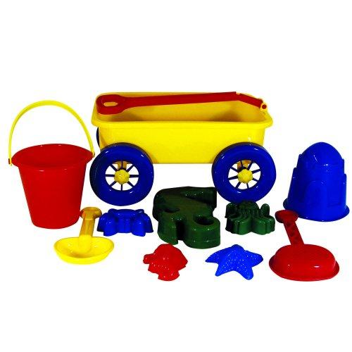 01f8ba4cfe ItzaBeachWagonSet, beach toys, sand toys, Water Sports 81061-8 ...