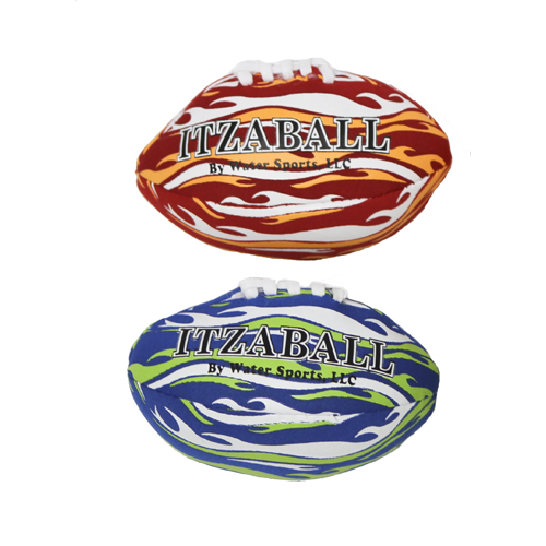 ItzaMiniFootball 2-Pack of 4 Inch Mini Footballs, Water Sports ItzaMiniFootball 81081-6