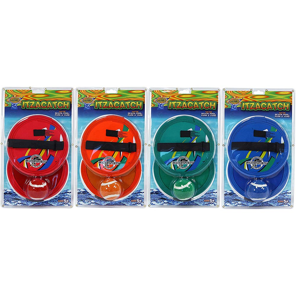 4 Pack Bundle of ItzaCatch, Water Sports Toss Game 82008-2