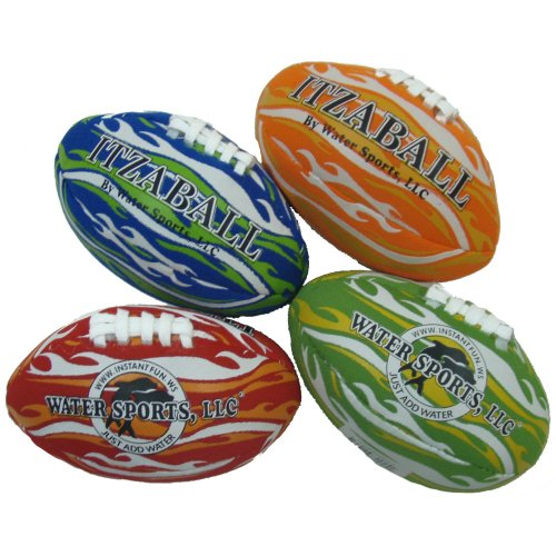 Itza Mini 4-Inch Football, Water Sports 82024-2