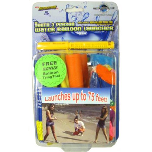 3 Person Water Balloon Launcher Youth Size, Water Sports Launcher 82025-9