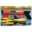 ITZABLAZT Water and Foam 3in1 Gun Combo Set, Water Sports Gun Set 80032-9