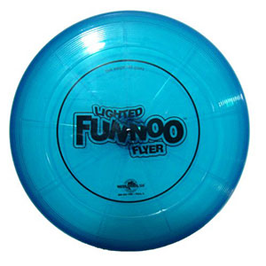 Funnoo Flyers, Lighted FUNNOO Flyer, Water Sports games 160 Gram Disk 81020-5